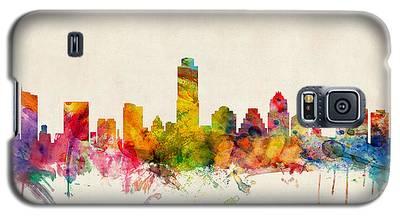 Austin Skyline Galaxy S5 Cases