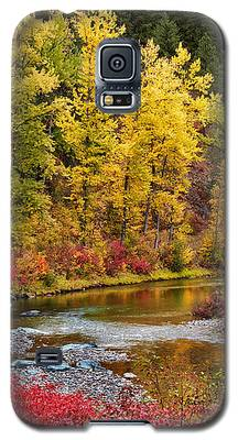 Autumn River Galaxy S5 Case