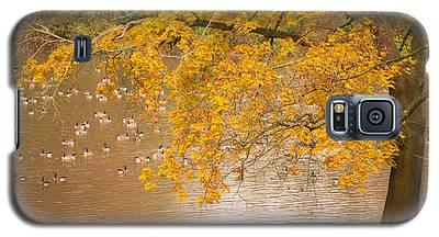 Autumn Visitors Galaxy S5 Case