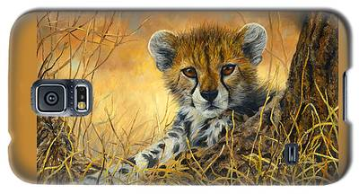 Baby Cheetah  Galaxy S5 Case