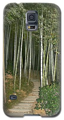 Bamboo Forest Pathway Galaxy S5 Case