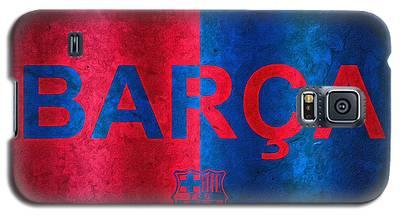 Barcelona Football Club Poster Galaxy S5 Case