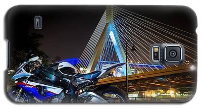 Bike And Bridge Galaxy S5 Case