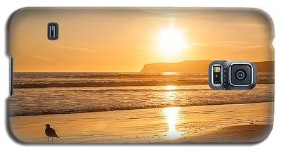 Bird And His Sunset Galaxy S5 Case