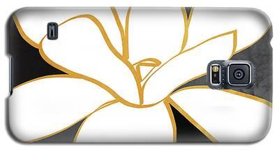 Magnolia Mixed Media Galaxy S5 Cases