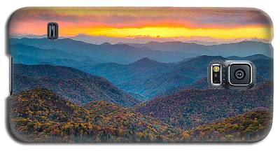 Mountain Sunset Galaxy S5 Cases