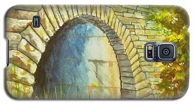 Blue Ridge Tunnel Galaxy S5 Case