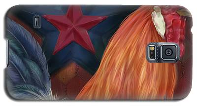 Blue Star Rooster Galaxy S5 Case