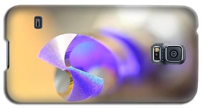 Blue Three Quarter Galaxy S5 Case