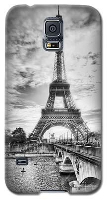 Bridge To The Eiffel Tower Galaxy S5 Case