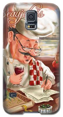 Busy Chef With Beaujolais Galaxy S5 Case