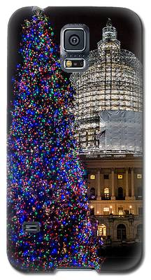 Capitol Christmas Tree 2014 Galaxy S5 Case