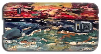 Capricious Sea Galaxy S5 Case