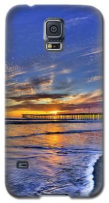 Cayucos Sunset Galaxy S5 Case