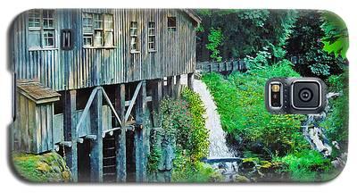 Cedar Creek Grist Mill Galaxy S5 Case