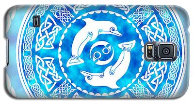 Celtic Dolphins Galaxy S5 Case