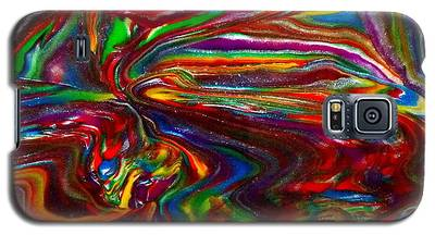 Chaotic Flow Galaxy S5 Case