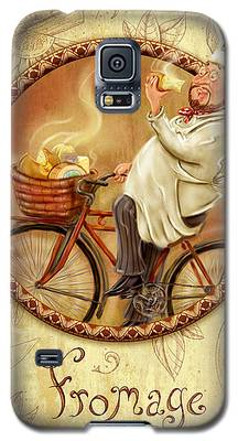 Chefs On Bikes-fromage Galaxy S5 Case