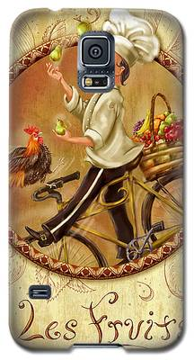 Chefs On Bikes-les Fruits Galaxy S5 Case