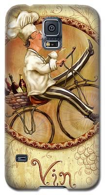 Chefs On Bikes-vin Galaxy S5 Case