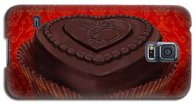 Chocolate Dark Galaxy S5 Case