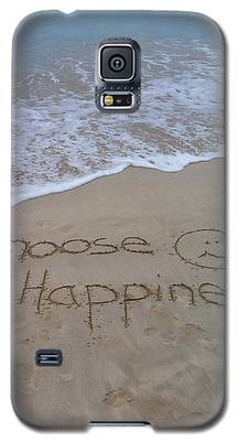 Choose Happiness Galaxy S5 Case