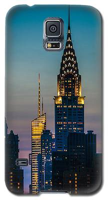 Chrysler Building At Sunset Galaxy S5 Case