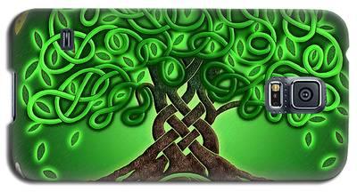 Circle Celtic Tree Of Life Galaxy S5 Case