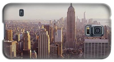 City In New Light Galaxy S5 Case
