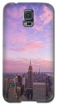 clouds over Empire State Galaxy S5 Case