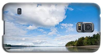 Clouds Reflected In Puget Sound Galaxy S5 Case