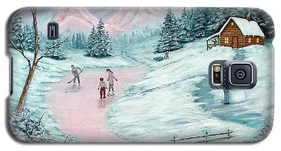 Colorado Christmas Galaxy S5 Case