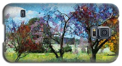 Colourful Garden Galaxy S5 Case