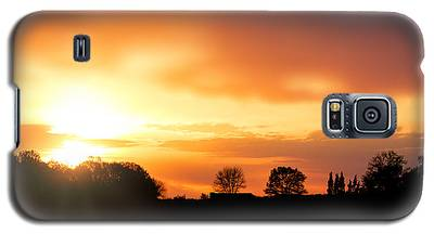 Country Sunset Silhouette Galaxy S5 Case