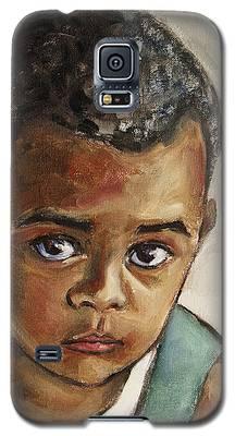 Curious Little Boy Galaxy S5 Case