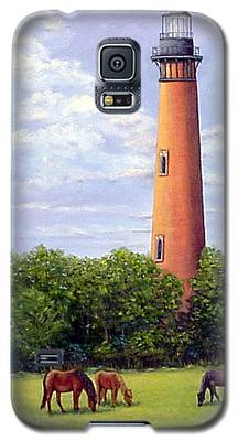 Currituck Lighthouse Galaxy S5 Case