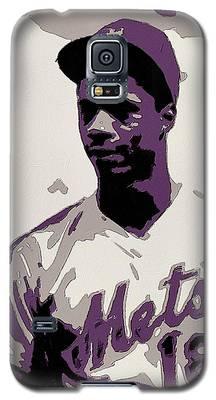 Darryl Strawberry Poster Art Galaxy S5 Case