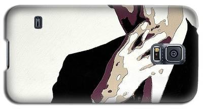 Don Draper Poster Art Galaxy S5 Case