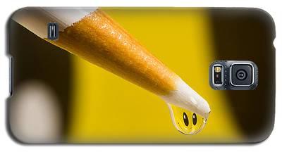 Happy Water Drop Pencil Galaxy S5 Case