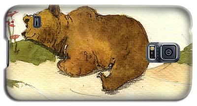 Brown Bear Galaxy S5 Cases