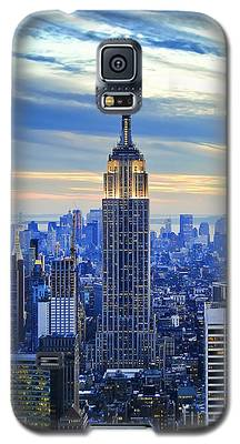 City Sunset Galaxy S5 Cases