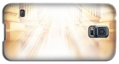 Enter Into His Courts Galaxy S5 Case