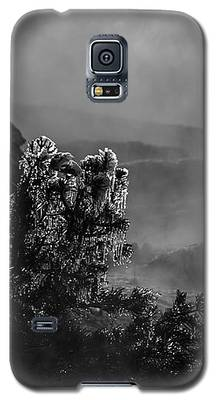 Ethereal Beauty In Black And White Galaxy S5 Case