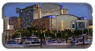 Evening At Washington National Harbor Galaxy S5 Case