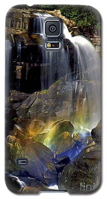 Falls And Rainbow Galaxy S5 Case