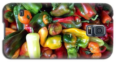 Farmers Market Peppers Galaxy S5 Case
