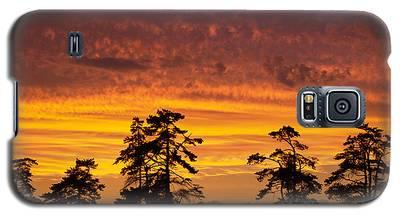 Fiery Sunset Galaxy S5 Case