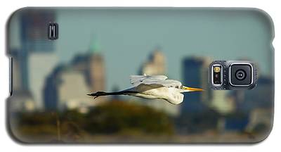 Flight Of The Great Egret Galaxy S5 Case