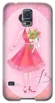 Flower Ladies-belle Galaxy S5 Case