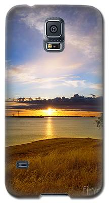 Folsom Lake Sunset Galaxy S5 Case